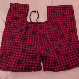 Woolrich red and black checked flannel pajama pant